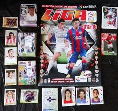 Panini - Football -  367 football cards from several different Panini collections + empty album of the Spanish League 2015/16.