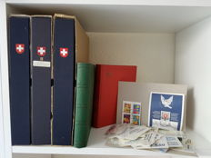 Switzerland 1913/2000 – Collection in 3 albums + remainders