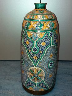 Offered for sale: a very old and beautiful Moroccan/Arabic vase