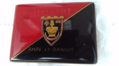 Rhin et Danube cigarette case from the First French army.
