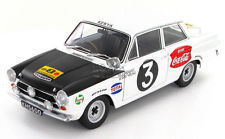 AUTOart - Scale 1/18 - Ford Lotus Cortina GT MKI, 1964 Rally Safari Coca Cola - Drivers: Huges / Young