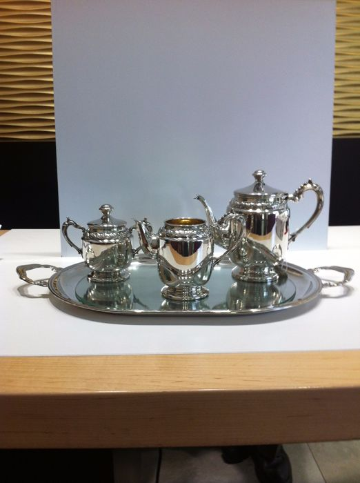 Silver coffee service - Pasgorcy S.A. - Spain - 1990/1999