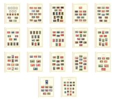 Ivory Coast 1906/1944 - complete collection + duty + air mail - Yvert #21/176