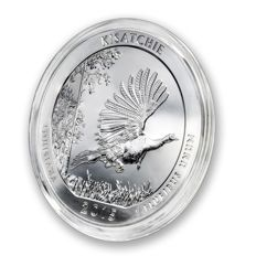 United States - US Mint - America the Beautiful - Kisatchie National Forest - Louisiana 2015 - large 5 oz 999 silver coin