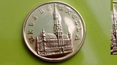 """Belgium - Commemorative coin / medal """"1000 years city of Brussels"""" by J. Wiener, Brunet - Gold"""