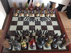 Jack Daniels chess set