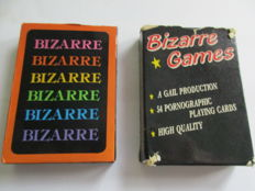 Card games; Lot with 2 sets of adult playing cards- ca 1975