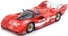 Norev - Scale 1/18 - Porsche 962 IMSA #5, Sieger 12h Sebring 1986 - Drivers Akin/Stuck/Gartner with Coca Cola Decals