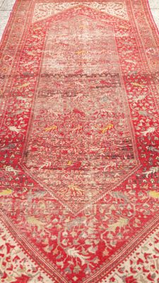 Hand-knotted Persian rug, Feraghan, 163 x 340 cm, 19th century