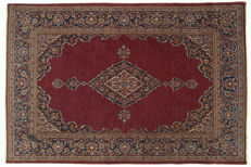 Original authentic Persian rug, Kashan, Iran, extra fine. With Certificate of Authenticity from the official expert, 200 x 131 cm (Galleria Farah 1970)