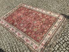 TURKISH Hand knotted SILK RUG KAYSERI 235x150 cm