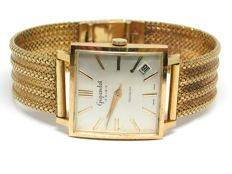 Art Deco Gigandet - 18 carat yellow gold - Mens watch - 30mm - ca 1950-60