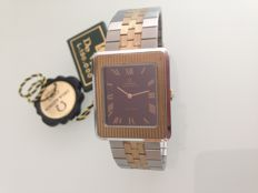 Omega de Ville – Unisex automatic wristwatch in gold and steel