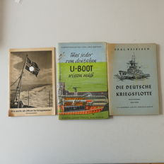 3 books of the German Navy from WW2