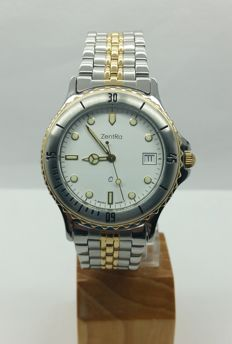 ZENTRA dual-tone wristwatch - new old stock from 2000s