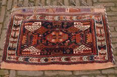 beautiful Persian Afshar tribal bag