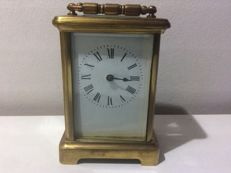 Small brass carriage clock - 2nd half 20th century
