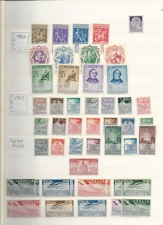 Italy and surroundings, Spain, Portugal, Andorra and Gibraltar - An assortment of stamps ranging from classic up to modern in stockbooks and strips.