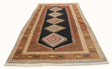 Authentic Persian ARDEBIL rug - original, hand-knotted  - 105 x 54 cm - with certificate of authenticity from an expert appraiser – (3131 Galleria Farah1970)