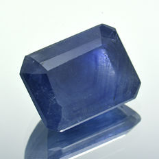 Blue sapphire with silk effect - 2.01 ct.