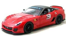 Hot Wheels - Scale 1/18 - Ferrari 599XX # 3 -  Colour: Red