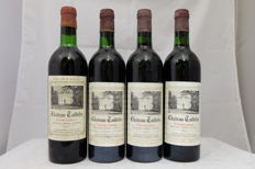 1x 1970, 3x 1975, Chateau Taillefer, Pomerol, France, Totale 4 Bottles.
