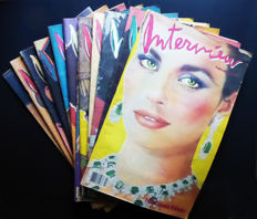 Andy Warhol - Interview - 12 issues - 1980 / 1983