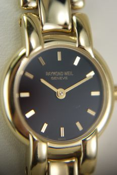 Raymond Weil Full 18K Gold-plated Ladie's wristwatch