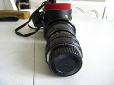 Telephoto Sigma Zoom lens 1:3.5/4.5 f=28-85. For Pentax
