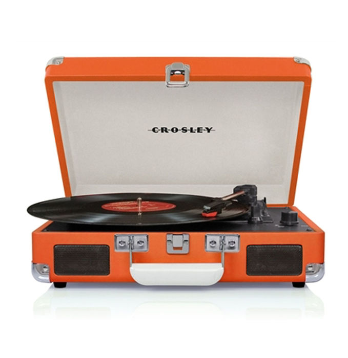 Crosley Cruiser Turntable Orange (DEMO) + Exclusive Single 45 rpm Chuck Berry - PROMO