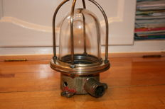 engine room deck lamp-from the first half 20th century