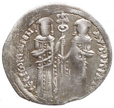 Byzantine Empire - Andronikos II, and Michael IX (1295-1320). AR Basilikon