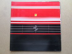 Ferrari - Lot of original catalogues of large size - Ferrari Mondial t, 348, F40 - 1987/1990