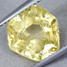 Sri Lanka Sapphire – Yellow  – 5.09 ct, No Reserve Price