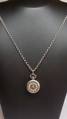 925 Silver pocket watch / necklace by the wonderful Prisma brand. No reserve!