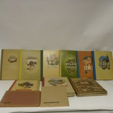 12 Douwe Egberts pictures books complete - Ca. 1950's