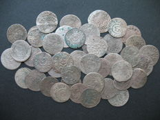 Poland, Lithuania - shillings, Sigismund III Vasa, Charles XI Gustav, 17th century.  (41 coins)