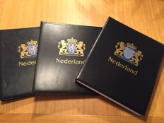 The Netherlands – Collection 1980/1988 in Safe album + 3 Davo LX albums partly empty