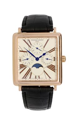 Frédérique Constant Persuasion Carree Moonphase – Men's wristwatch