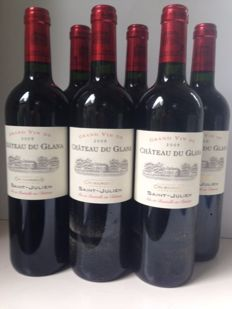 2005 Chateau Du Glana - Saint-Julien Cru Bourgeois Superieur - 6 bottles (75cl)