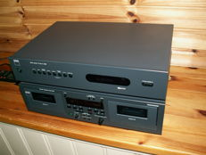 By the English top brand NAD: class double TAPE DECK 616 and remote control and TUNER C440.