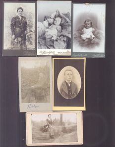 Portrait photos CDV - 30x - 1880/1920