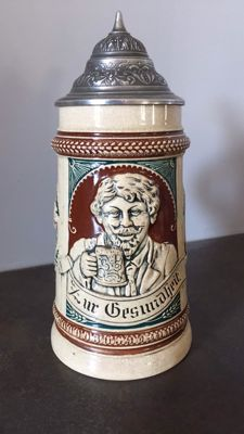 Mug of beer - 19th century