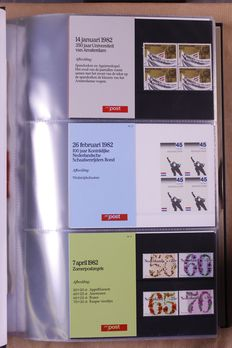 The Netherlands 1978/2001 – Complete Collection Stamp Booklets and FDCs