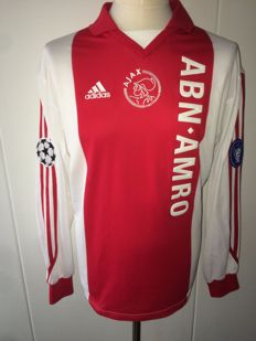 AFC Ajax / Marco van Basten - Ajax Home shirt 01/02 Champions League version, no.9 Van Basten.