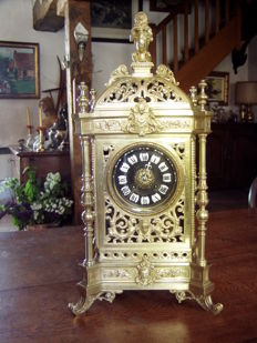 Table cartel clock - France, Japy Frères - 1800/1890