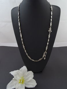 Silver 925 kt necklace 69 cm