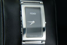 Fendi  women's ladies steel watch  Italy design Swiss made