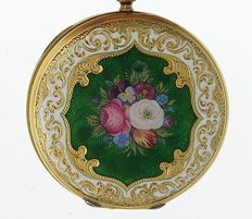 Blondel & Melly, Geneva open face pocket watch  1850