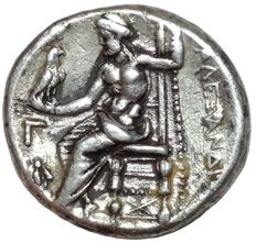 Greek Antiquity - Macedonian Kingdom - Alexander III, the Great (336-323 BC) - AR Tetradrachm - Babylon mint, ca. 311-305 BC.